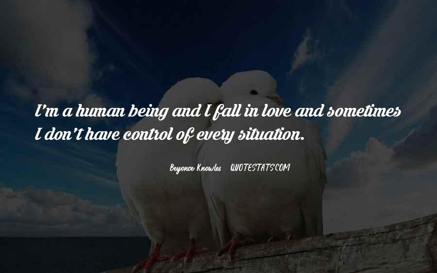 Love Human Being Quotes #228443