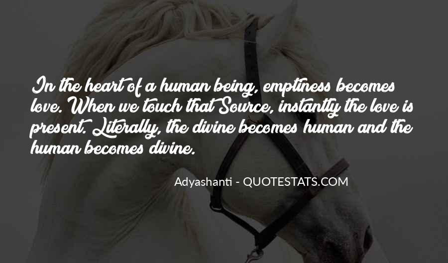 Love Human Being Quotes #414029
