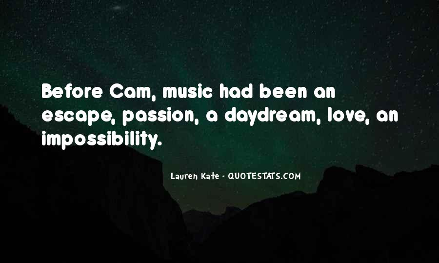 Love Impossibility Quotes #1148256