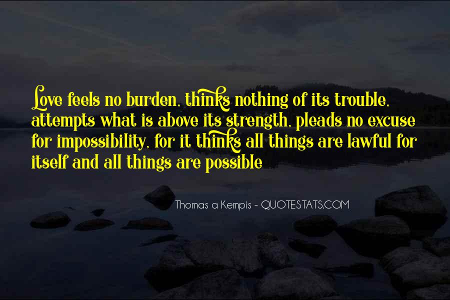 Love Impossibility Quotes #1166295