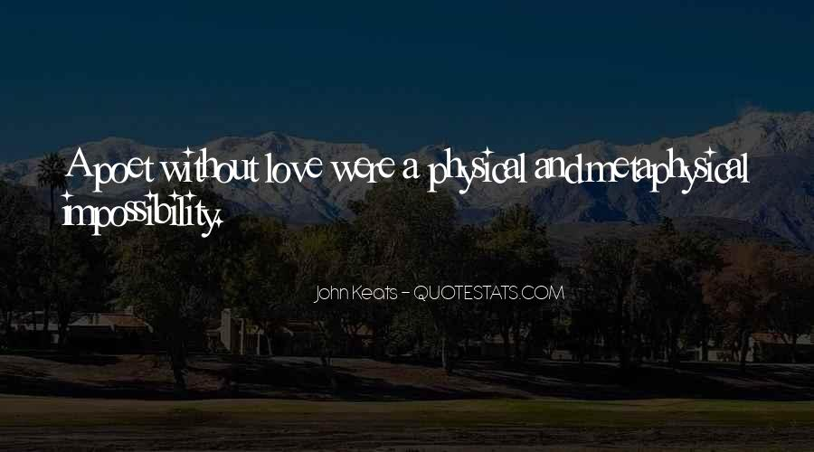 Love Impossibility Quotes #1459956