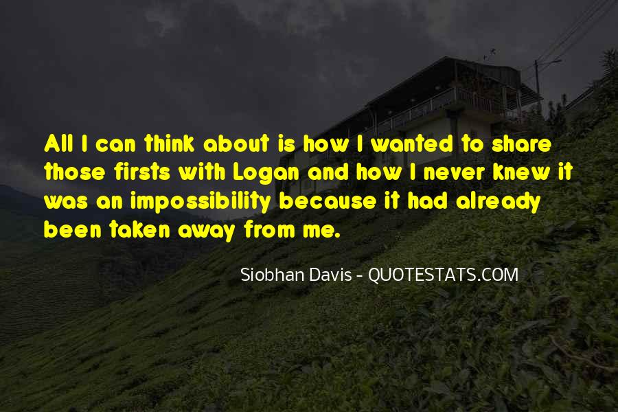 Love Impossibility Quotes #1537843