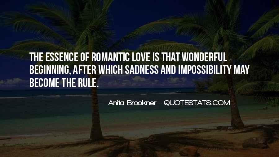Love Impossibility Quotes #424654