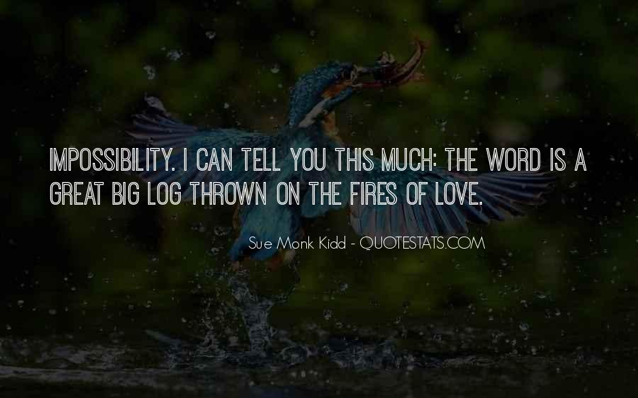 Love Impossibility Quotes #553200