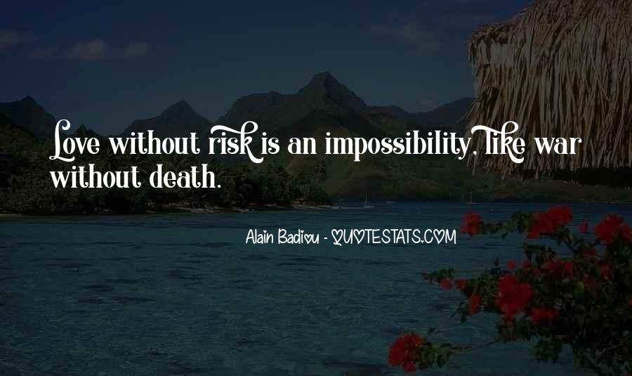 Love Impossibility Quotes #689232