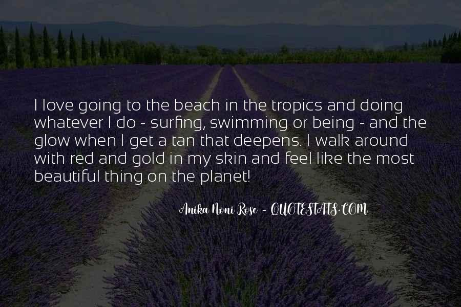 Love In The Beach Quotes #144361