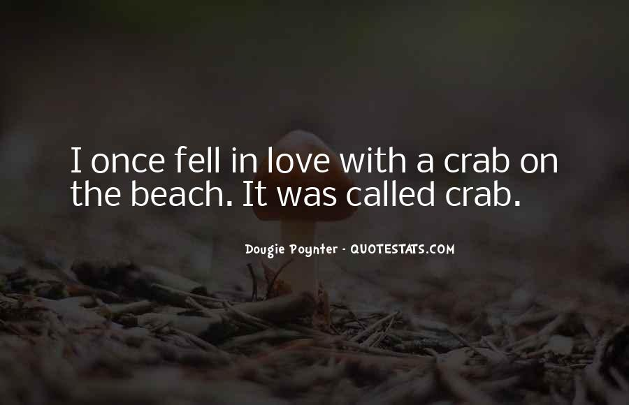 Love In The Beach Quotes #1451423