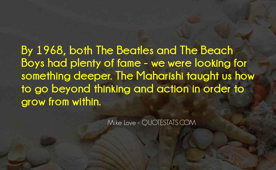 Love In The Beach Quotes #1481734