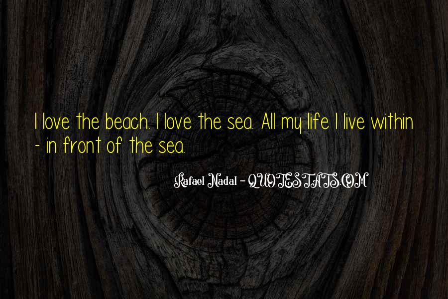 Love In The Beach Quotes #1515804