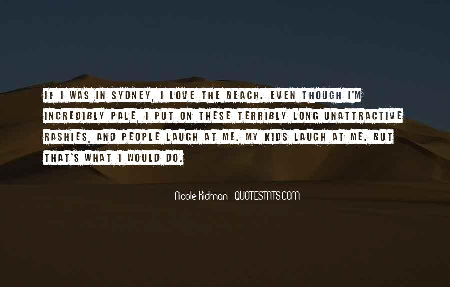 Love In The Beach Quotes #166977