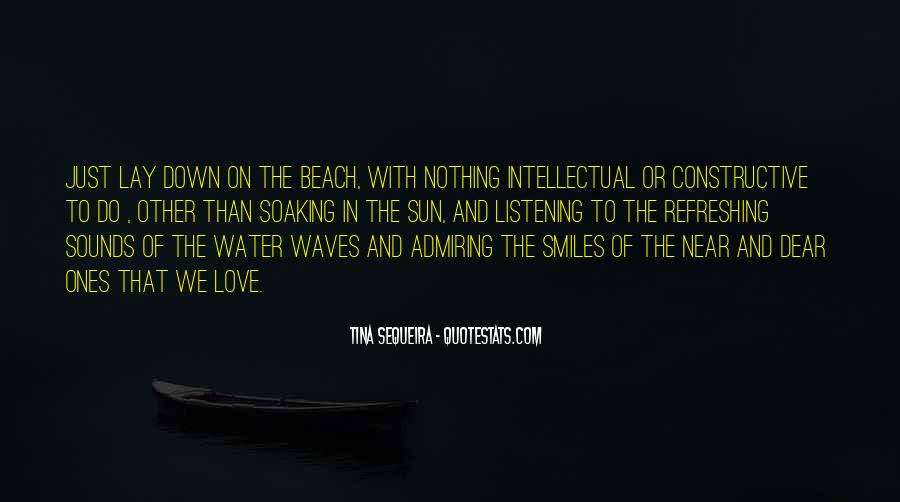 Love In The Beach Quotes #1743804