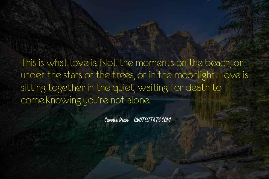 Love In The Beach Quotes #302652