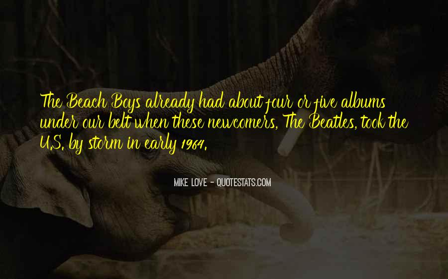 Love In The Beach Quotes #680850