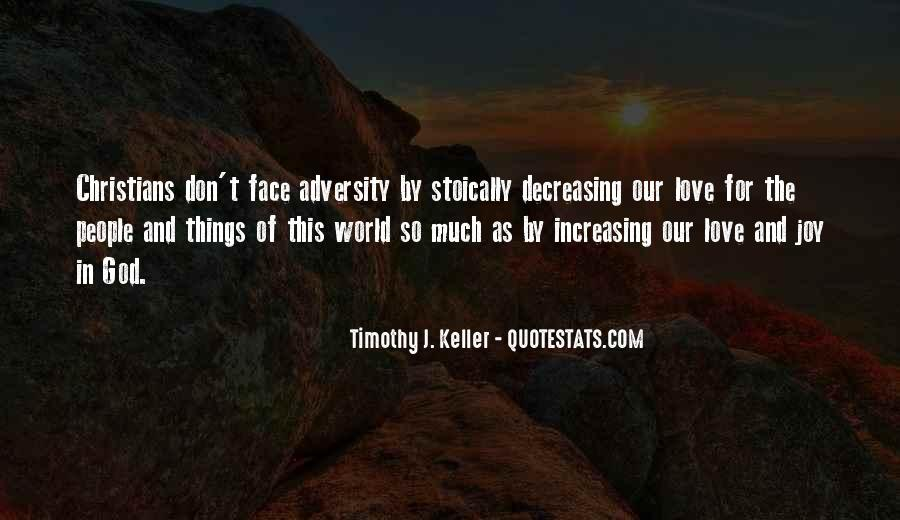 Love In The Face Of Adversity Quotes #671301