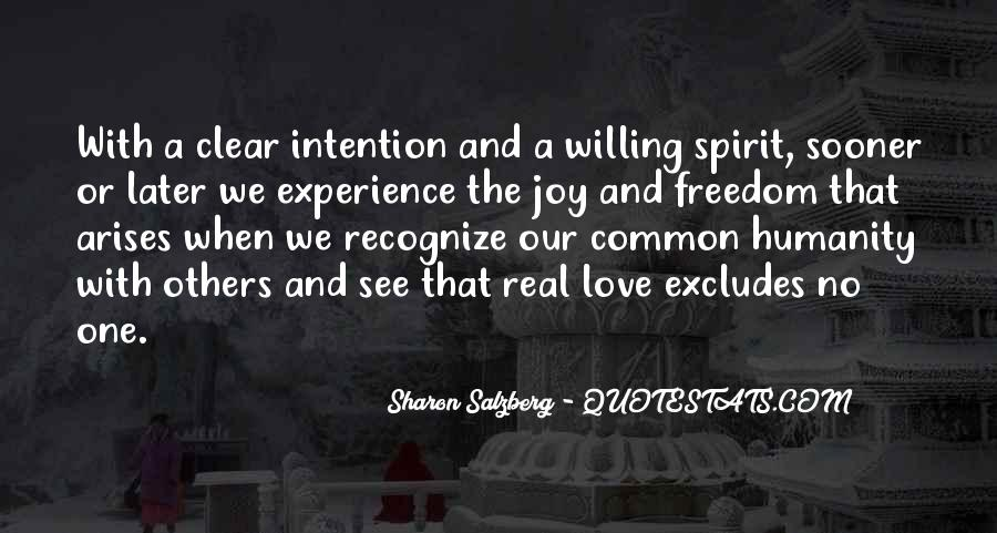 Love Intention Quotes #1088230