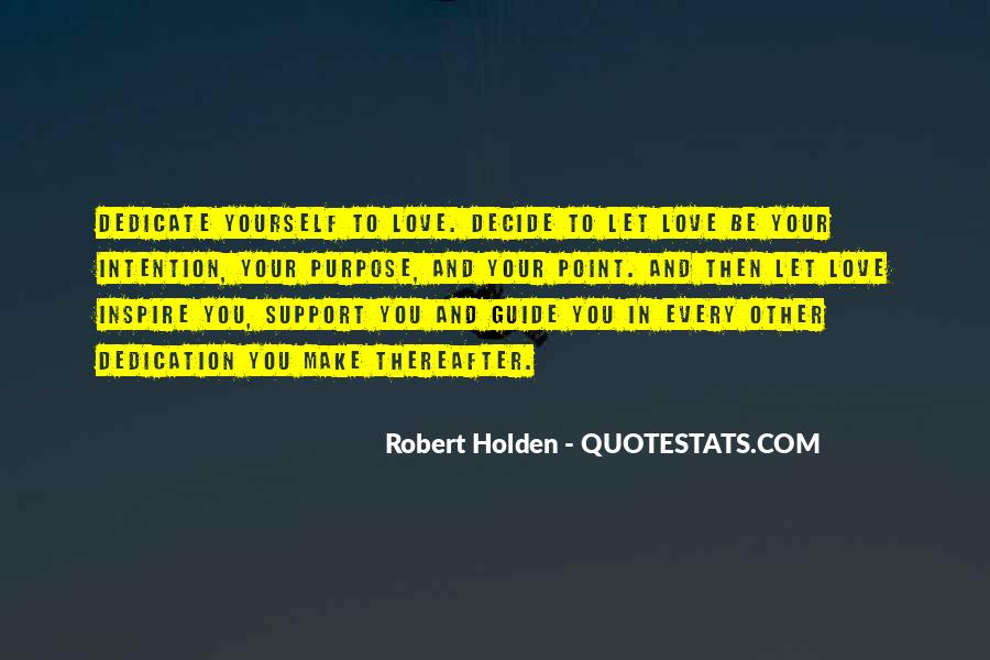 Love Intention Quotes #1122123
