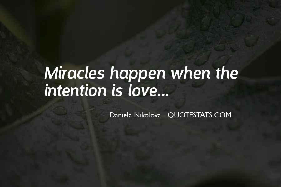 Love Intention Quotes #1151304