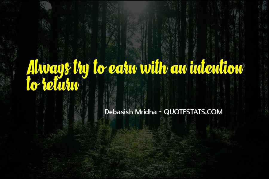 Love Intention Quotes #1185213
