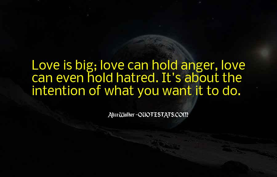 Love Intention Quotes #121403