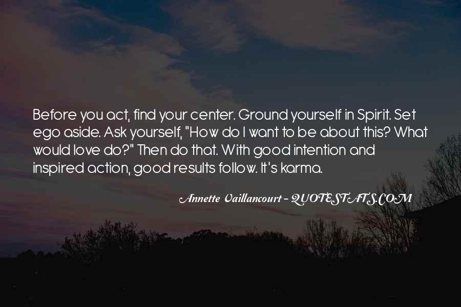 Love Intention Quotes #1391988