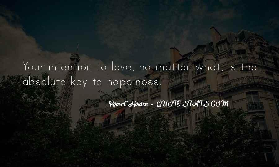 Love Intention Quotes #1533778