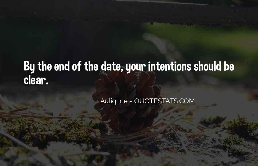 Love Intention Quotes #1581622