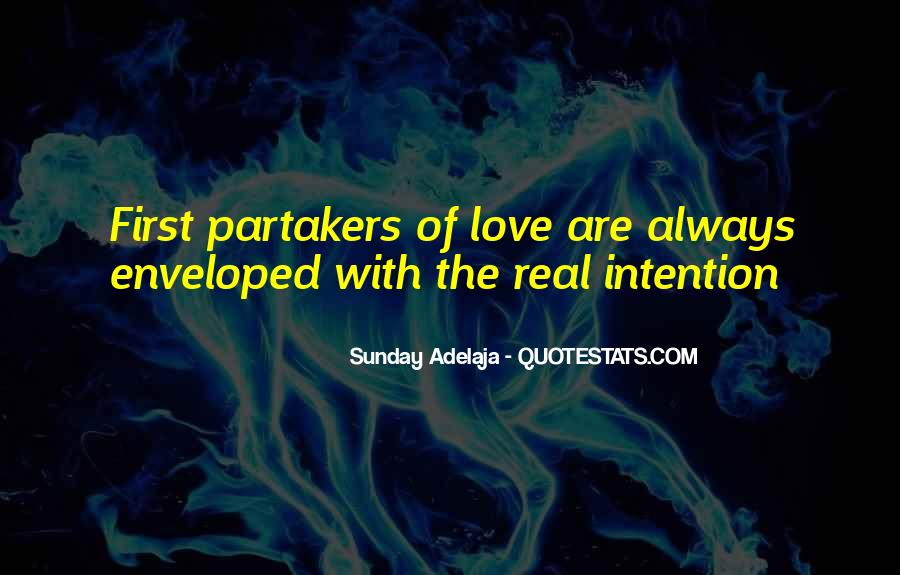 Love Intention Quotes #1690201