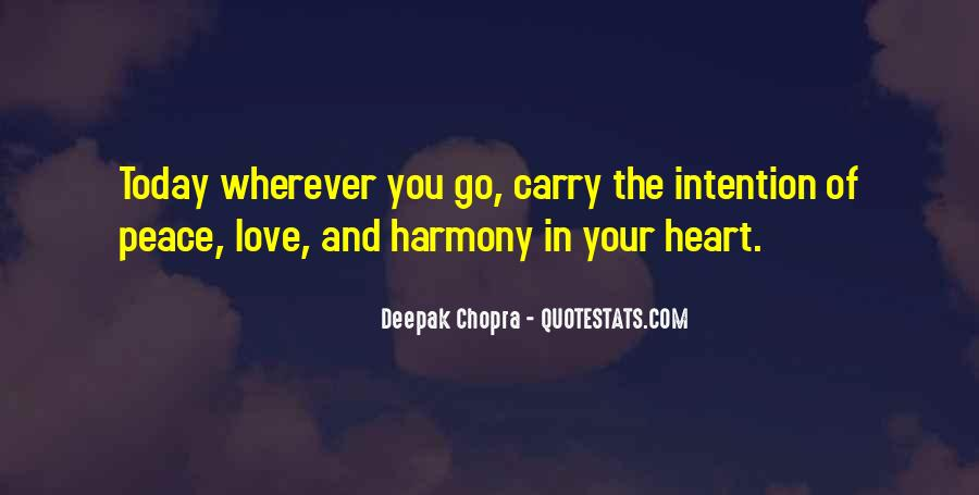 Love Intention Quotes #219655
