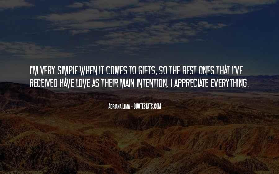 Love Intention Quotes #298512