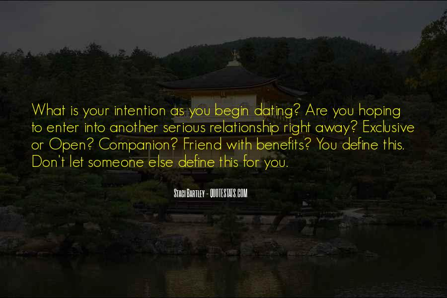 Love Intention Quotes #401121