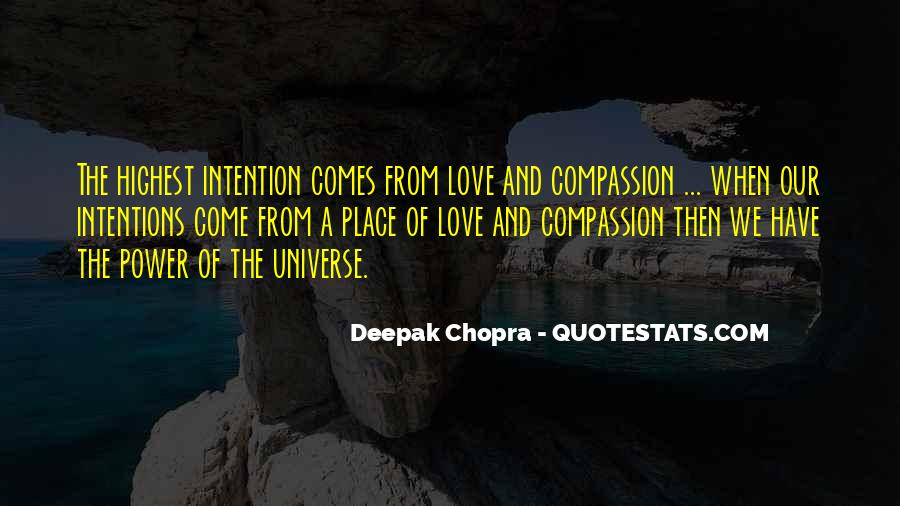 Love Intention Quotes #499989