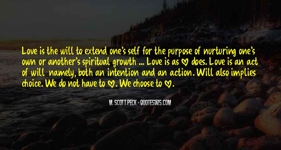 Love Intention Quotes #642553