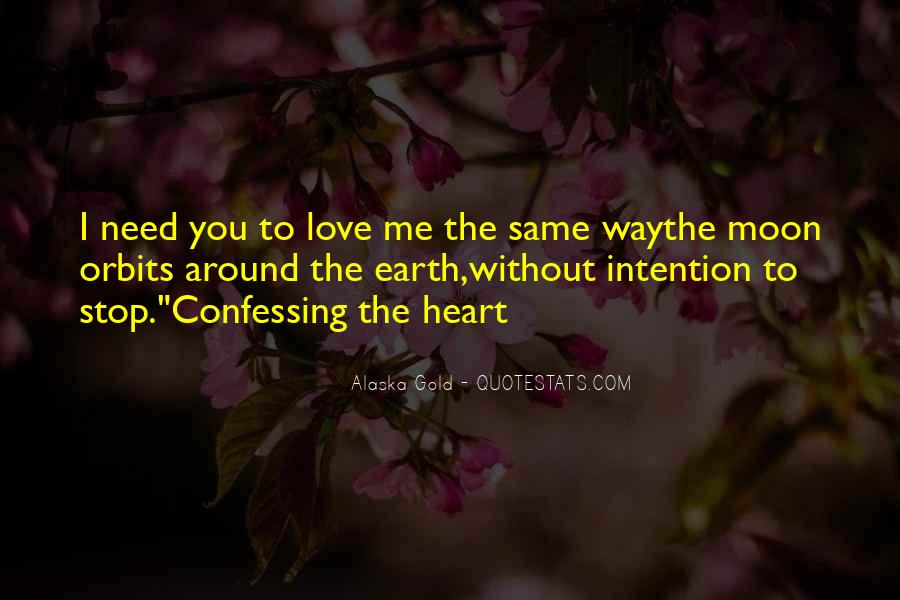 Love Intention Quotes #732997