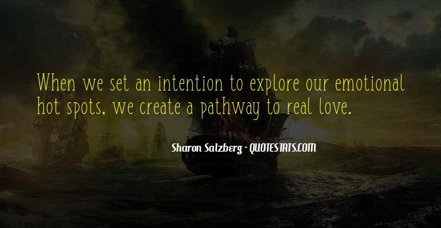 Love Intention Quotes #815739