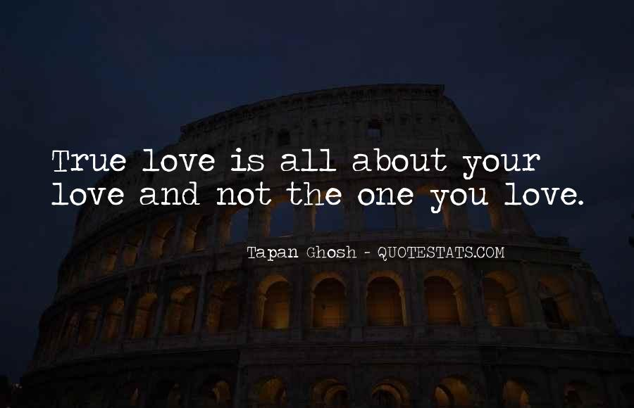 Love Is All About Quotes #88083