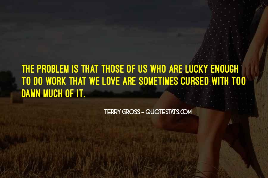 Love Is Cursed Quotes #624824