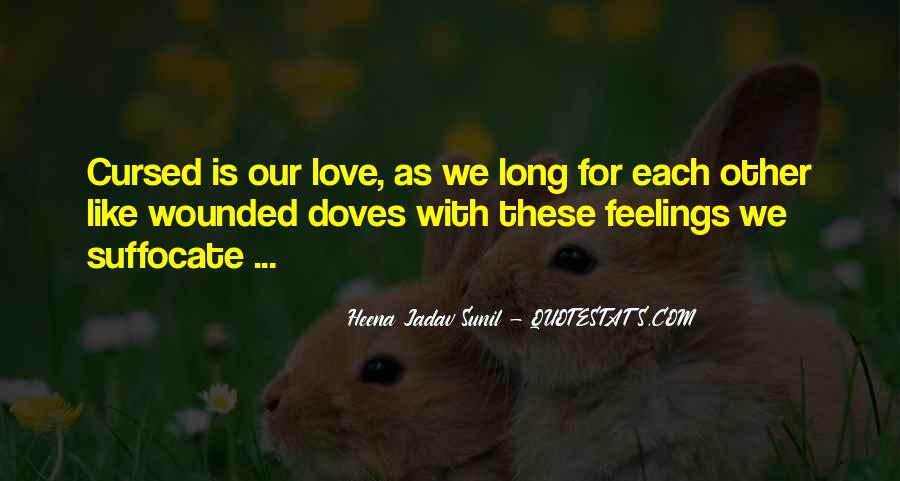 Love Is Cursed Quotes #987022