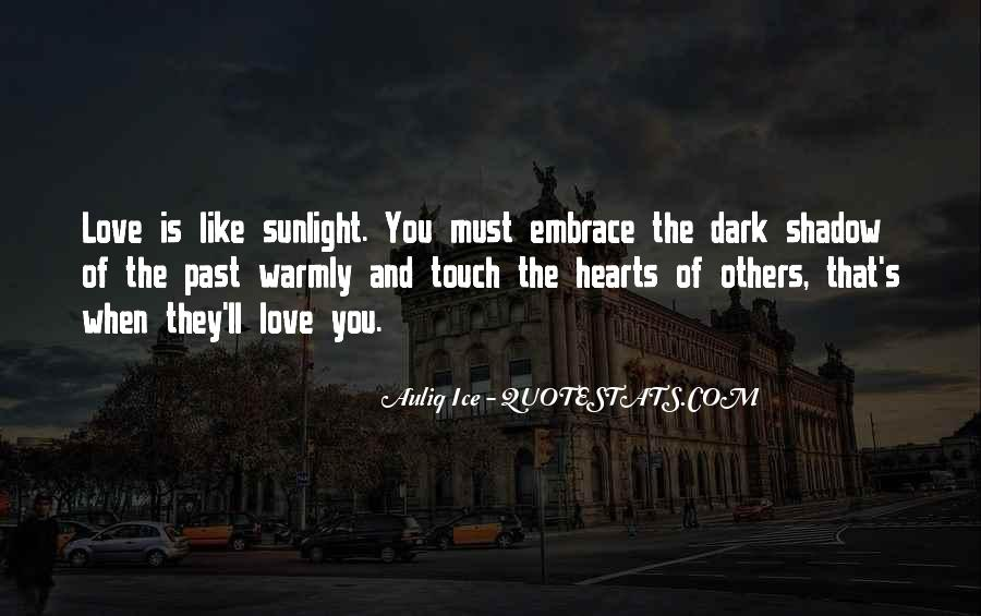 Love Is Like A Shadow Quotes #1280819