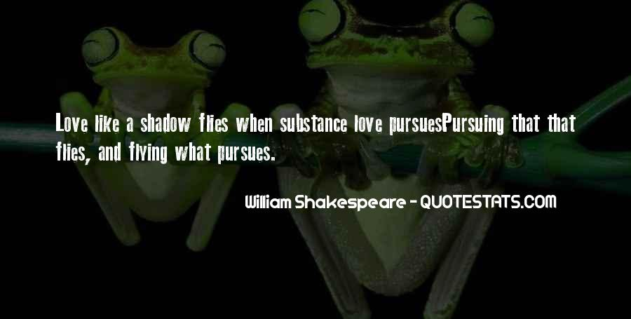 Love Is Like A Shadow Quotes #675105