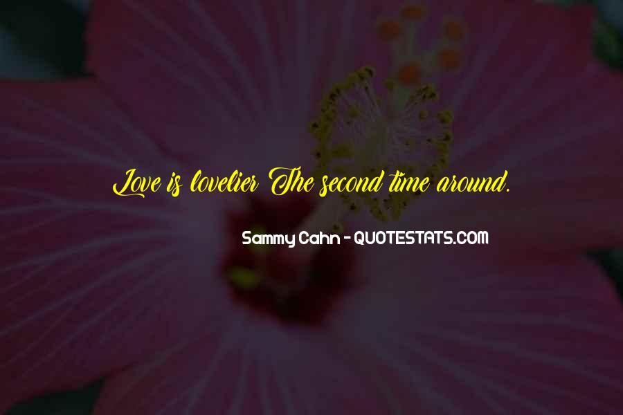 Love Is Lovelier Quotes #1488467