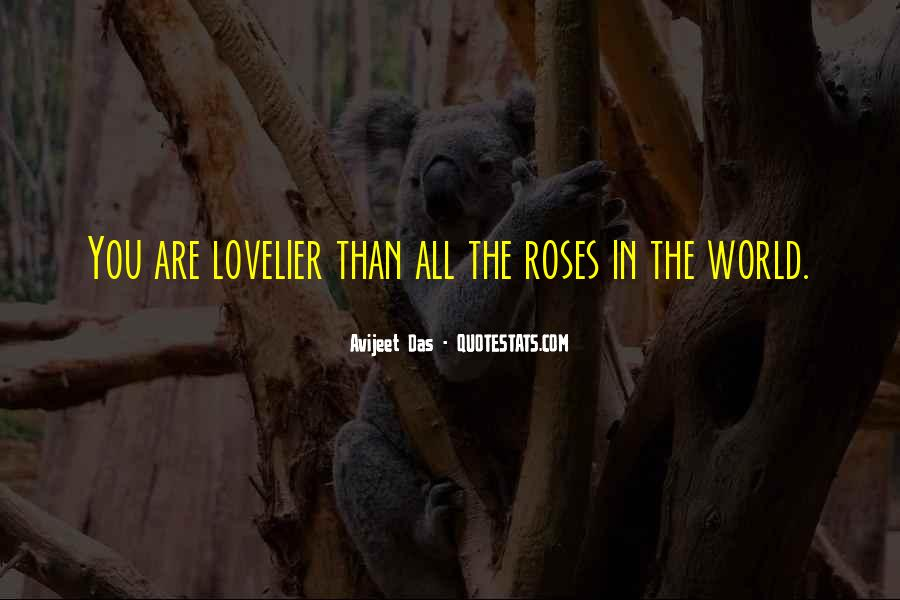 Love Is Lovelier Quotes #32187
