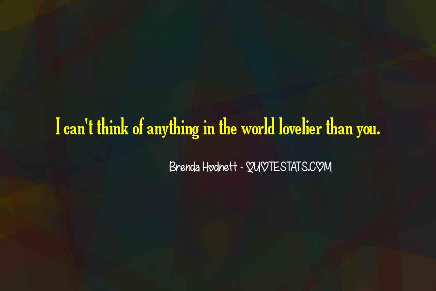Love Is Lovelier Quotes #963291