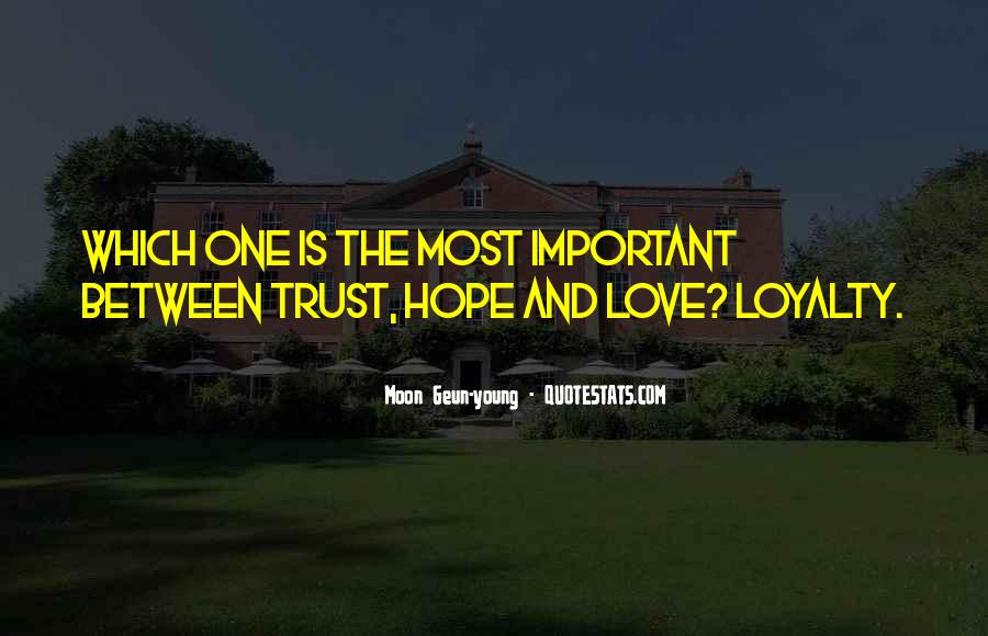 Love Is Most Important Quotes #209061