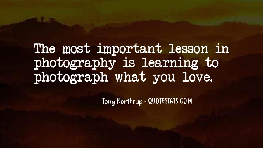 Love Is Most Important Quotes #233540