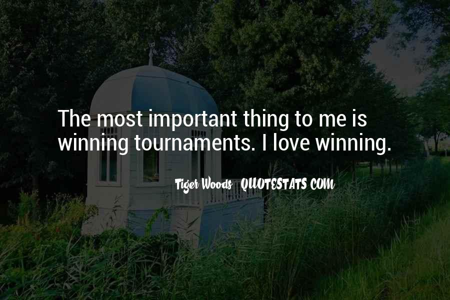 Love Is Most Important Quotes #866756