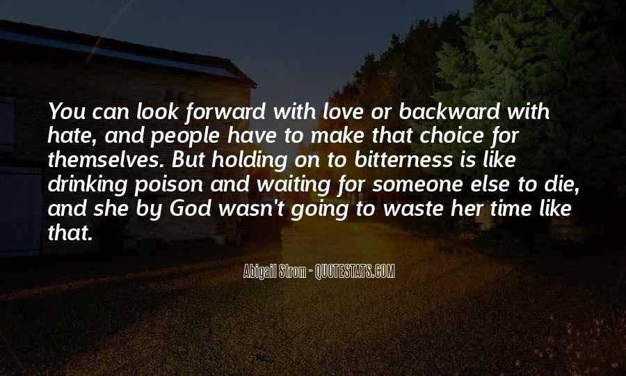 Love Is Such A Waste Of Time Quotes #8061