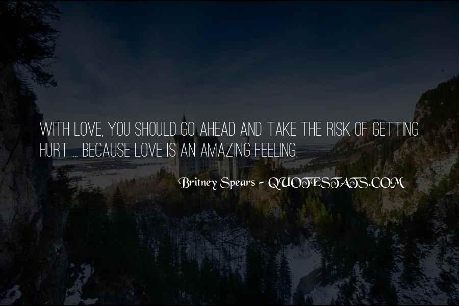 Love Is The Feeling Quotes #18449