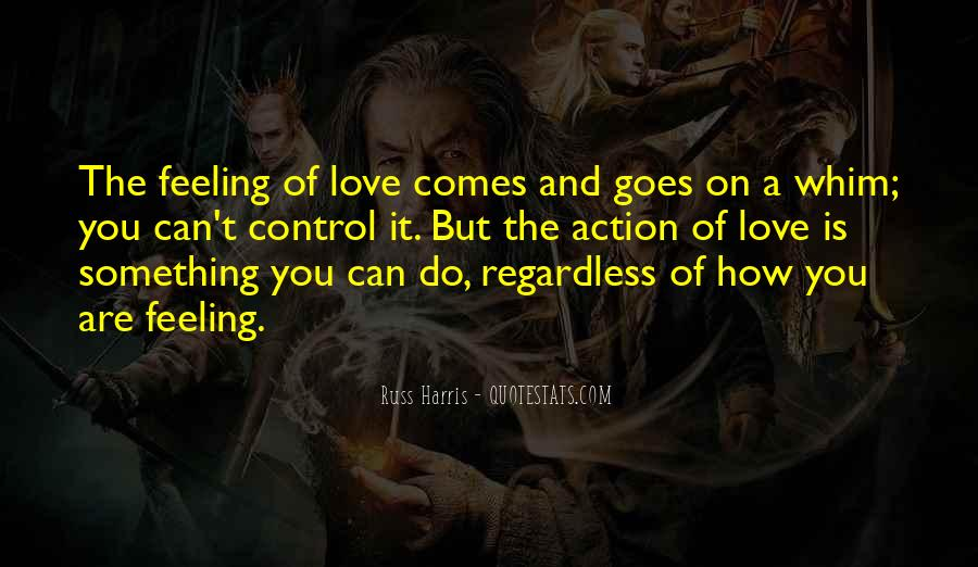 Love Is The Feeling Quotes #195626