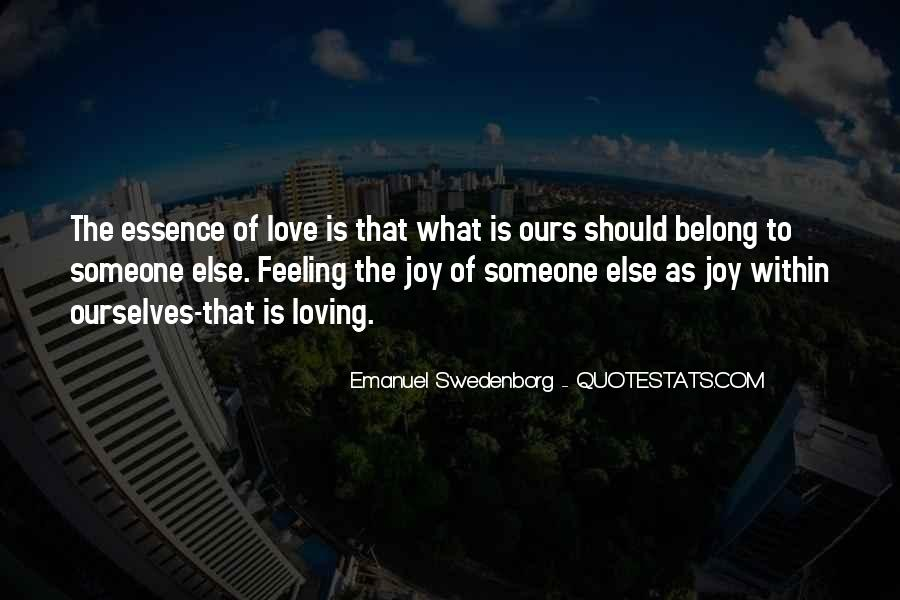 Love Is The Feeling Quotes #208141