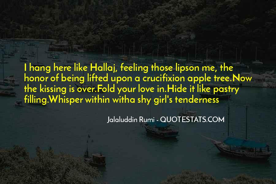 Love Is The Feeling Quotes #256084